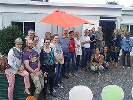 Equipe bénévoles Festival en milieu urbain Tôt ou T'Arts Pays de Gex
