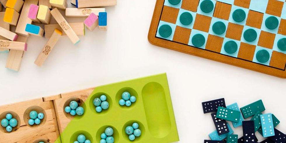 Atelier Fabrique ton jeu de société (3-10 ans)