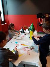 Activité créative enfant Gex CSC Les Lib