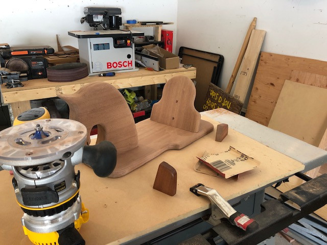 working on a Rocking Horse