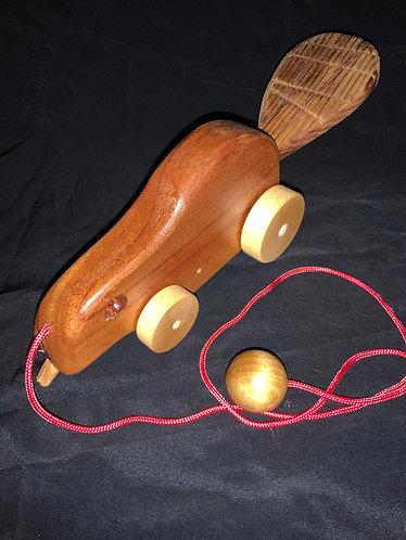 Beaver Pull Toy