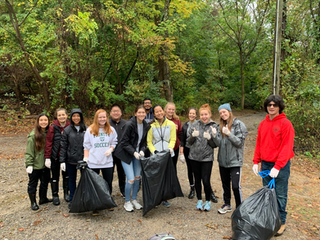 Huckleberry Trail Cleanup
