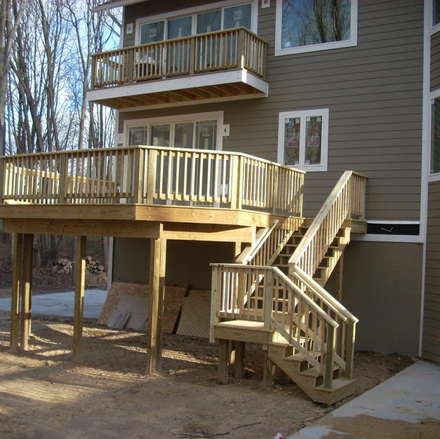 Wrap Around Deck
