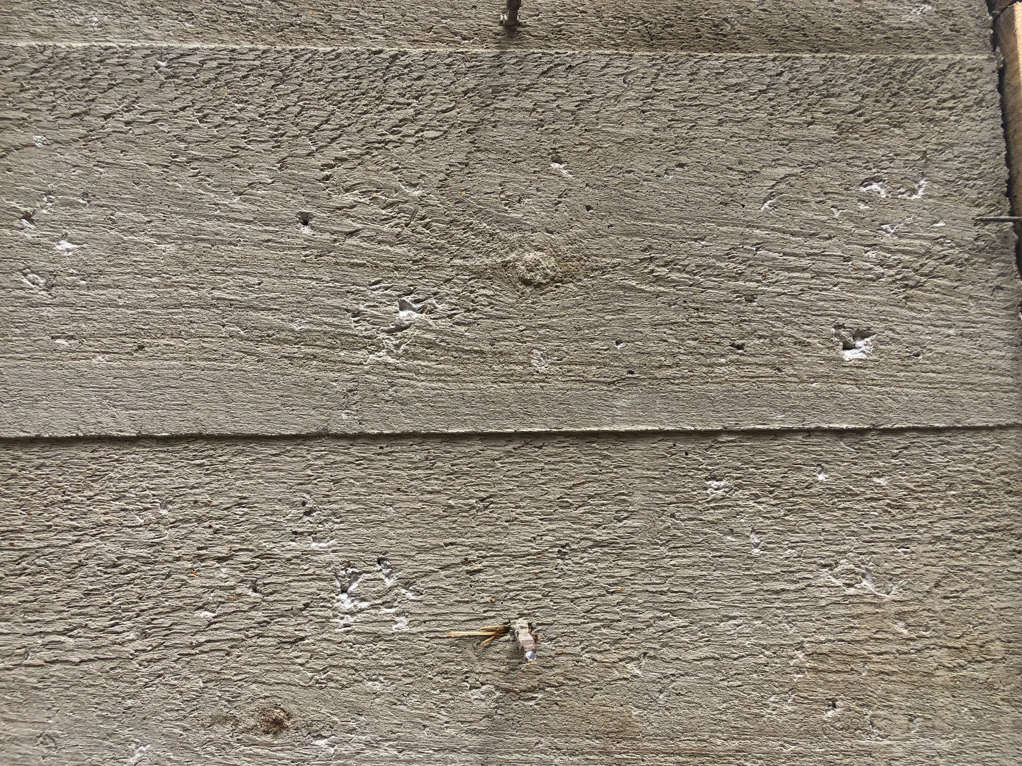 boardform concrete wall