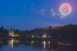 4th of July fireworks in Narrowsburg