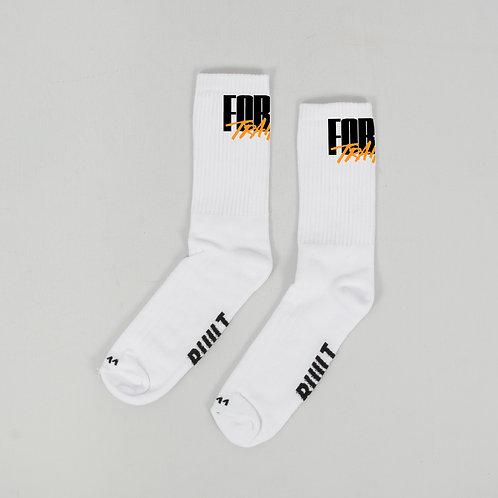 FT X BUN - White Socks