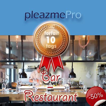 Bar, Restaurant-Licence 10 tags