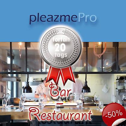 Bar, Restaurant-Licence 20 tags