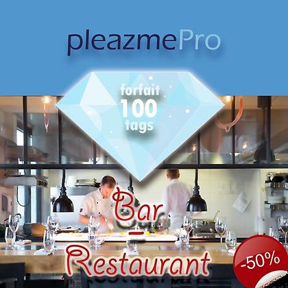 Bar, Restaurant-Licence 100 tags