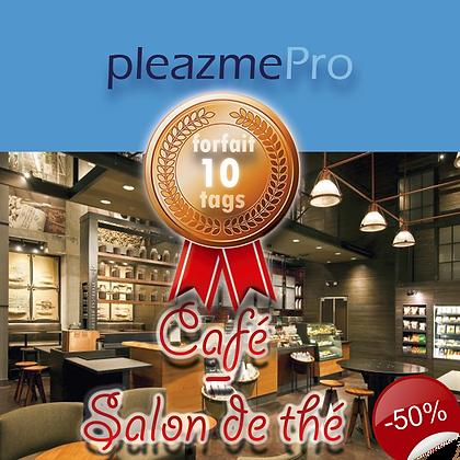 Café, Salon de thé - Licence 10 tags