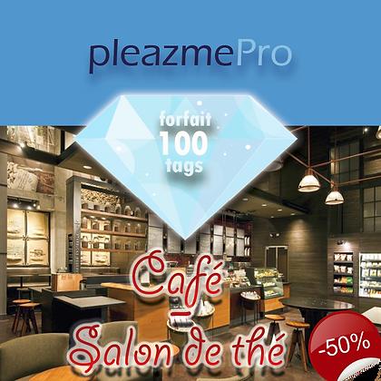 Café, Salon de thé - Licence 100 tags