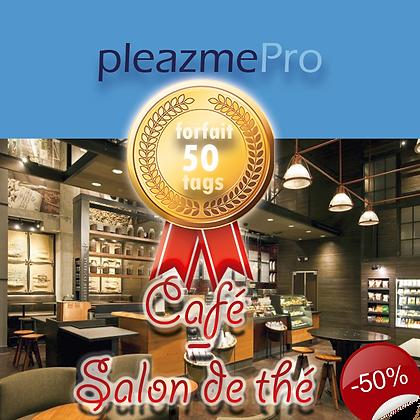 Café, Salon de thé - Licence 50 tags