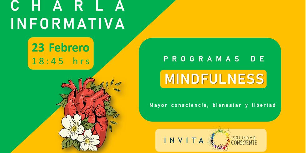 """CHARLA INFORMATIVA """"Programa de Mindfulness"""""""