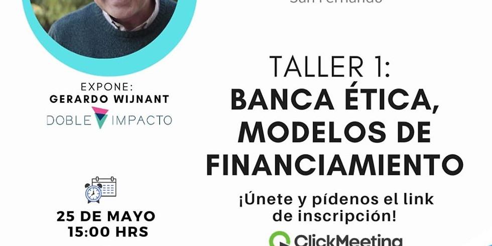 Banca Ética, Modelos de Financiamiento
