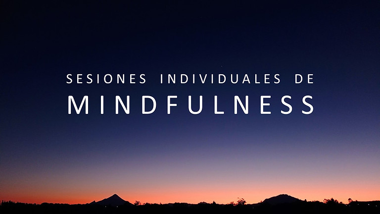 Sesiones Individuales de Mindfulness On line / Presencial