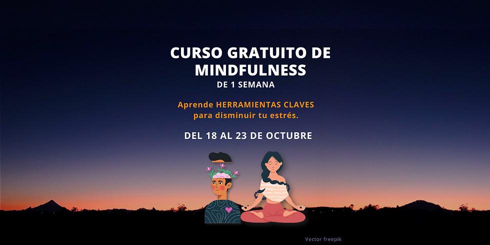 CURSO GRATUITO DE MINDFULNESS DE 1 SEMANA