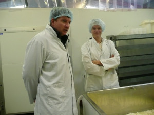 Visit by H&B and Dick of Mollie Sharps, Selby