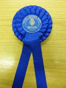 Second place for our Unpasteurised Natural Rinded Goat Cheese