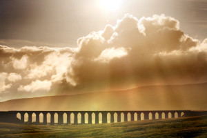 The Ribblehead Viaduct near where I live