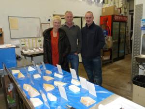 Philippa, Paul and Luke from Gusto Italian Restaurant in Settle