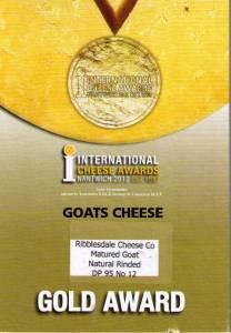 Our Gold Award: Nantwich 2012