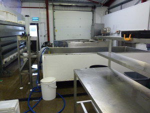 The dairy getting a deep clean