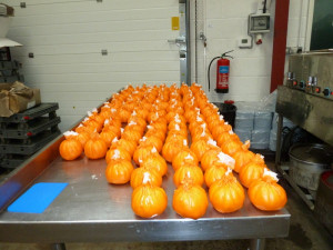 130 finished pumpkins!  570 to go.
