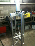 Our New Press for our New Mini Cheeses