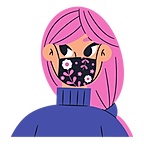 woman with mask vector.png