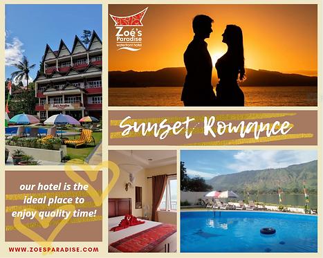 Lake Toba sunset romance package