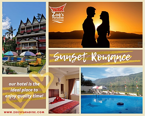 Lake Toba sunset romance package