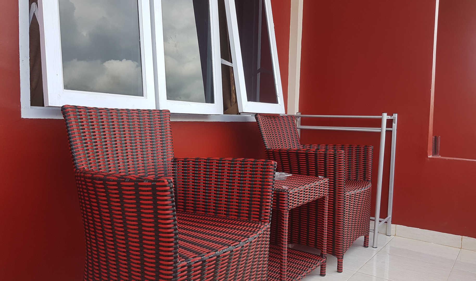 balcony Zoé's Paradise Waterfront Hotel