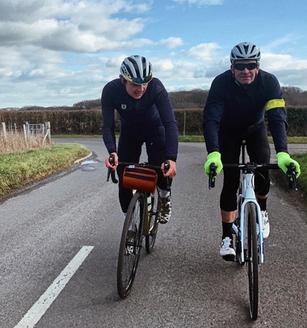 "Sean Yates - ""Back chasing the boys"" on his Ribble e-Bike"