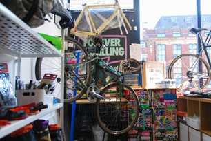 Bespoked Bags At Forever Pedalling, Bristol