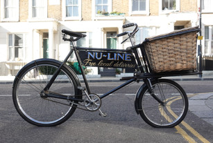 NuLine Tool Shop Vintage Delivery Bike