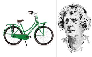 Grayson Perry On His Vogue Elite Bicycle