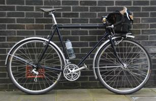 Jack's Resprayed Surly Touring Bike
