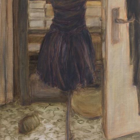 2007, 50 x 70 cm oil on canvas (linen)