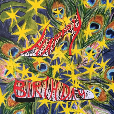 'Happy Birthday' card