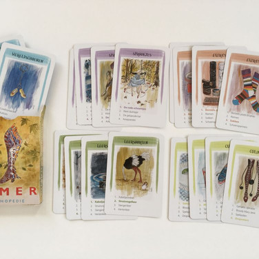 Quartets card game