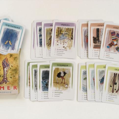 Quartets card game