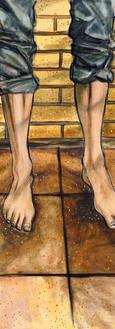 The start: feet