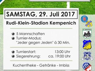 2. Lindner-Cup - Der SC Kempenich und die LINDNER-Gruppe Nürburgring veranstalten zweites Sommerturn