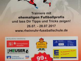 Rhein-Ruhr Fußballschule (by Holger Gaißmayer) zum zweiten Mal in Kempenich zu Gast.