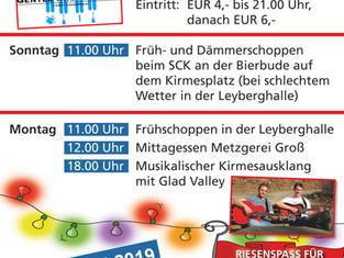 Kirmes-Wochenende in Kempenich