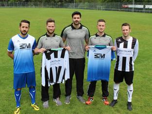 1. Mannschaft ist auch im Kreisliga-Oberhaus bestens ausgestattet.