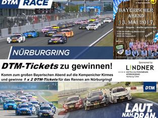 DTM goes SCK - Bei der Kempenicher Kirmes gibt es, Tickets für die DTM auf dem Nürburgring gewinnen!