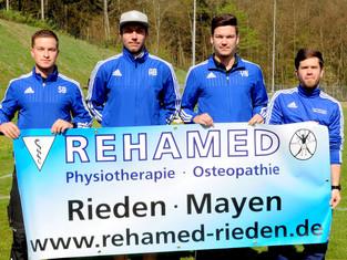 Gesundheit in guten Händen – Erste Mannschaft startet Kooperation mit REHAMED.