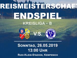Meisterschafts-Endspiel der Kreisliga B in Kempenich.