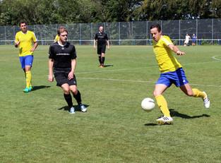 Gut gespielt aber trotzdem verloren - Niederlage für die Kempenicher Reserve.